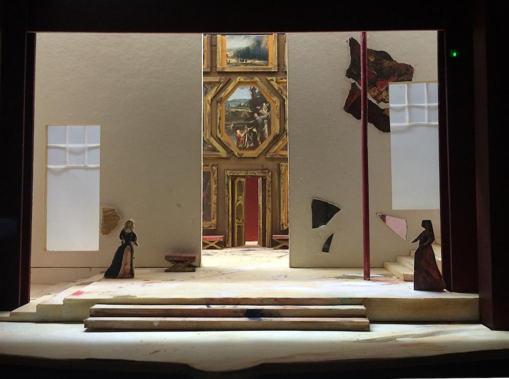 Sehr Maquettes de décor au théâtre - Association des chefs décorateurs  WO42